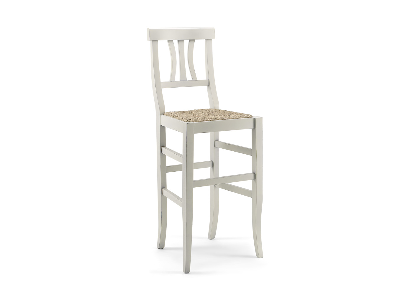 Ok affare fatto sgabello con schienale in legno seduta